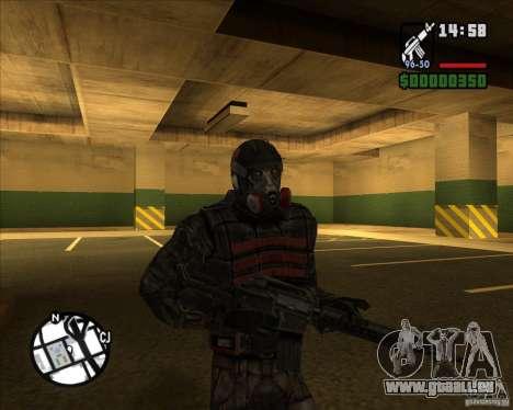 Groupe de stalkers dette pour GTA San Andreas quatrième écran