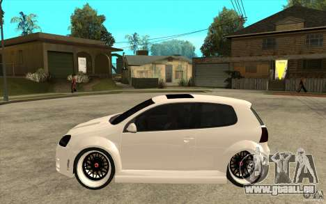 VW Golf 5 GTI Tuning pour GTA San Andreas laissé vue