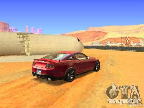 Ford Shelby GT500 für GTA San Andreas linke Ansicht