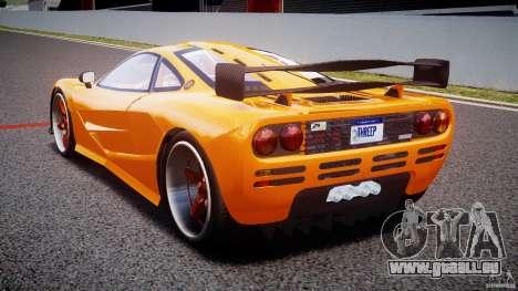 Mc Laren F1 LM v1.0 pour GTA 4 Vue arrière de la gauche