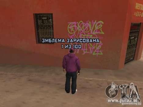 Ballas 4 Life für GTA San Andreas achten Screenshot