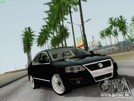 Volkswagen Magotan 2011 für GTA San Andreas Rückansicht