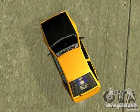 Toyota AE86 Levin für GTA San Andreas rechten Ansicht