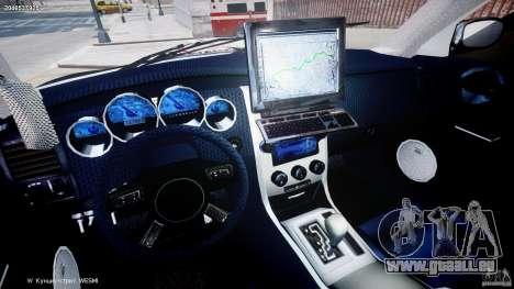 Dodge Charger NYPD Police v1.3 für GTA 4 Rückansicht