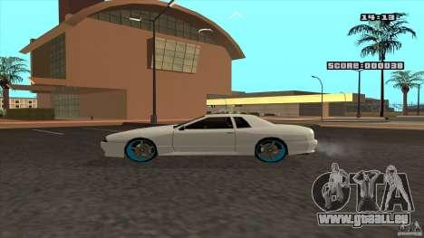 Drift Elegy by KaLaSh pour GTA San Andreas sur la vue arrière gauche