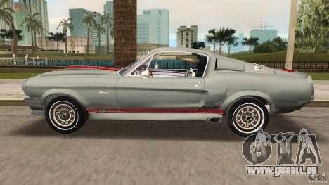 Ford Shelby GT500 für GTA Vice City Innenansicht