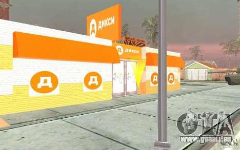 Nouvelle boutique Dixie pour GTA San Andreas