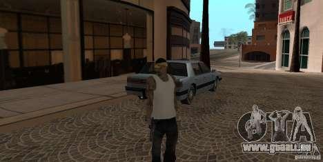 Skin Pack Vagos pour GTA San Andreas deuxième écran