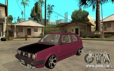 VW Golf 2 GTI pour GTA San Andreas