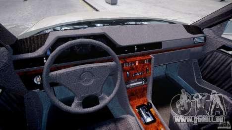 Mercedes-Benz W124 E500 1995 pour GTA 4 est un droit