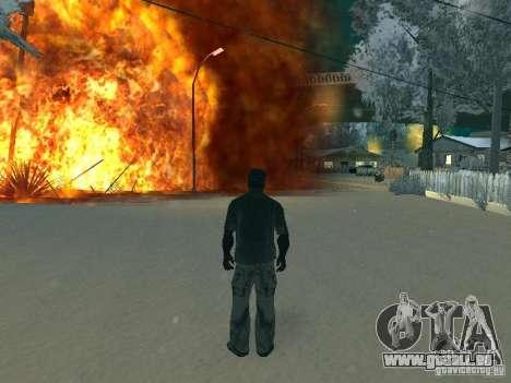 Salut v1 pour GTA San Andreas quatrième écran
