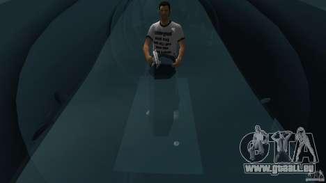 Seehund Midget Submarine skin 2 pour GTA Vice City vue arrière