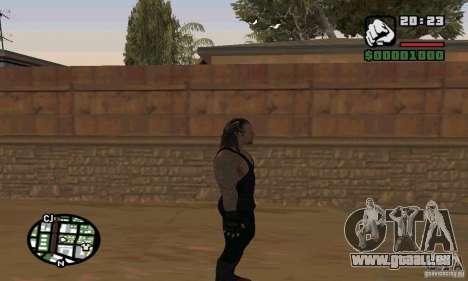 L'undertaker à Smackdown 2 pour GTA San Andreas septième écran