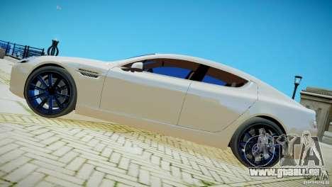 Aston Martin Rapide pour GTA 4 Vue arrière de la gauche