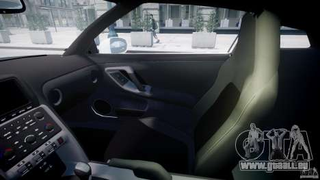 Nissan GTR R35 SpecV v1.0 für GTA 4 obere Ansicht