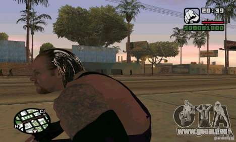 L'undertaker à Smackdown 2 pour GTA San Andreas quatrième écran