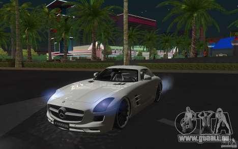 Mercedes Benz SLS HAMANN pour GTA San Andreas laissé vue