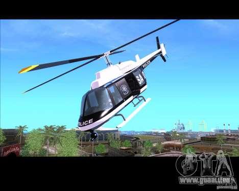 GTA IV Police Helicopter für GTA San Andreas
