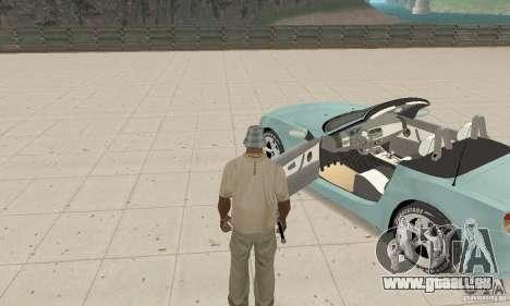 BMW Z4 Roadster 2006 für GTA San Andreas Rückansicht