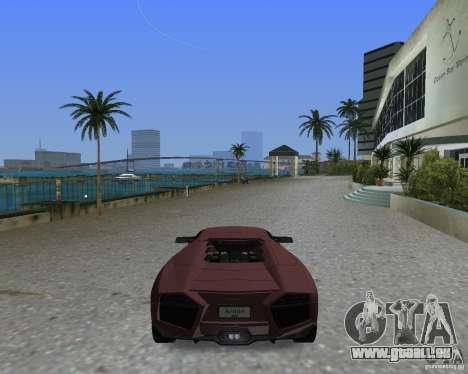 Lamborghini Reventon pour une vue GTA Vice City de la gauche