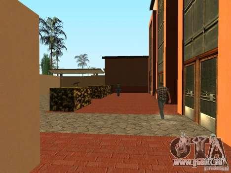 Nouvelles textures pour la station de l'unité pour GTA San Andreas troisième écran