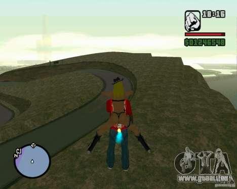 Ebisu Touge pour GTA San Andreas deuxième écran