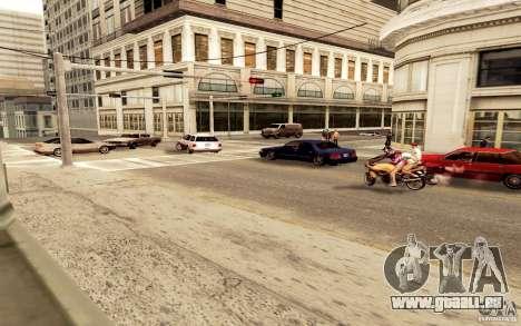 Un nouvel algorithme pour la circulation automob pour GTA San Andreas deuxième écran