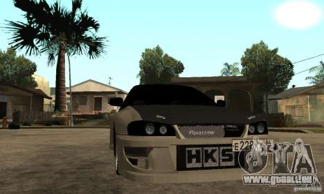 Subaru Impreza 22B STI Tuning pour GTA San Andreas vue arrière
