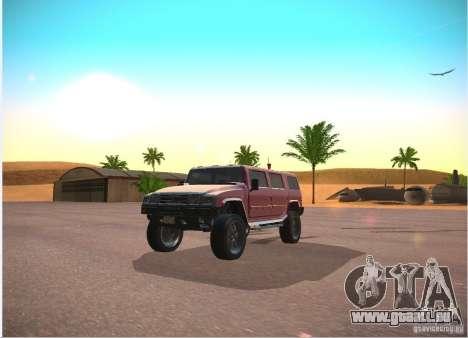 Patriote de GTA 4 pour GTA San Andreas vue arrière
