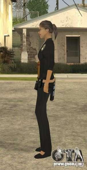 Peau de jeune fille DD pour GTA San Andreas quatrième écran
