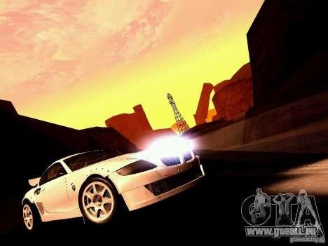 BMW Z4 Rally Cross für GTA San Andreas Rückansicht