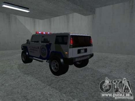 Noeud coulant Patriot de GTA 4 pour GTA San Andreas laissé vue