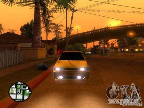 VAZ-2112-Auto Tuning für GTA San Andreas Rückansicht