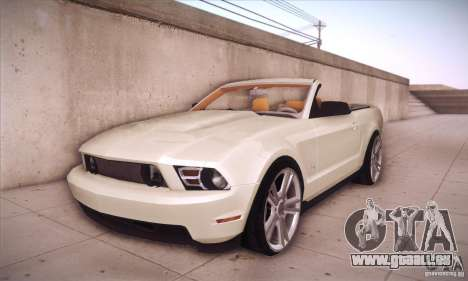Ford Mustang 2011 Convertible pour GTA San Andreas