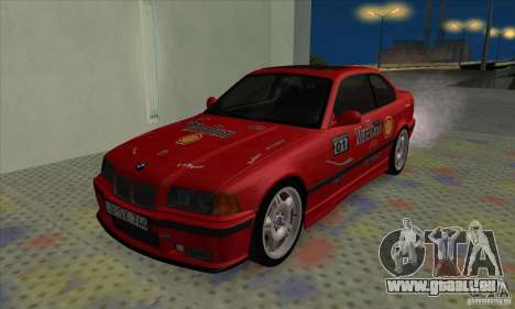 BMW M3 E36 pour GTA San Andreas salon