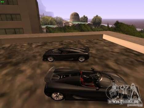 Koenigsegg CCXR Edition für GTA San Andreas linke Ansicht