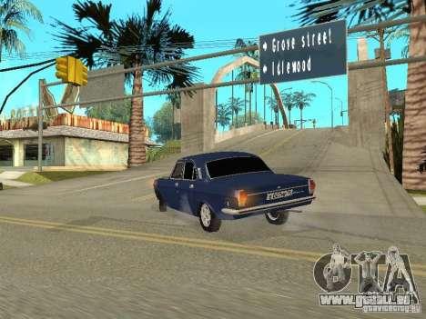 GAZ 24-10 pour GTA San Andreas vue arrière