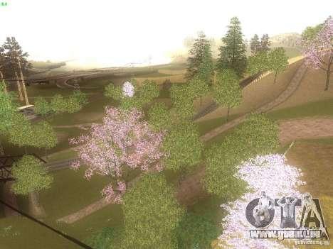Spring Season v2 pour GTA San Andreas troisième écran