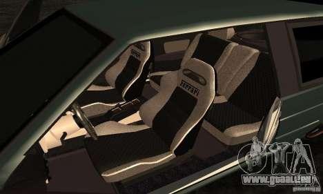 VAZ 2113 Ferrari pour GTA San Andreas vue arrière