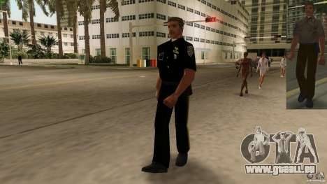 Nouvelle version de flics de vêtements 2 pour GTA Vice City