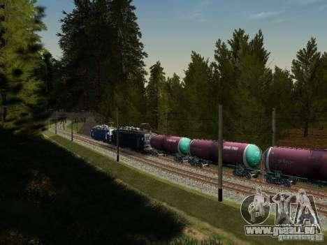 Wagon-citerne no 51179257 pour GTA San Andreas vue arrière