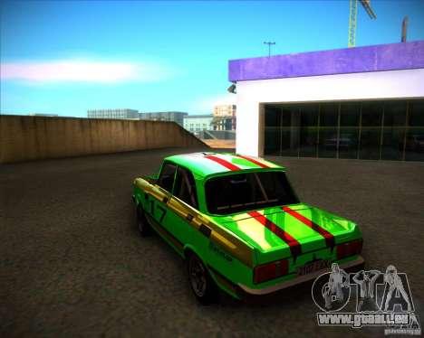 AZLK 2140SL Rallye für GTA San Andreas zurück linke Ansicht