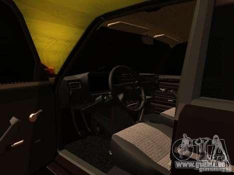VAZ 2107 X-Style pour GTA San Andreas vue de côté