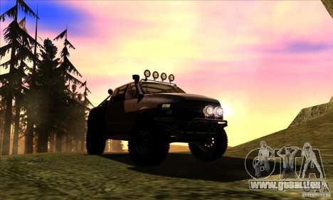 Dodge Ram All Terrain Carryer für GTA San Andreas Rückansicht