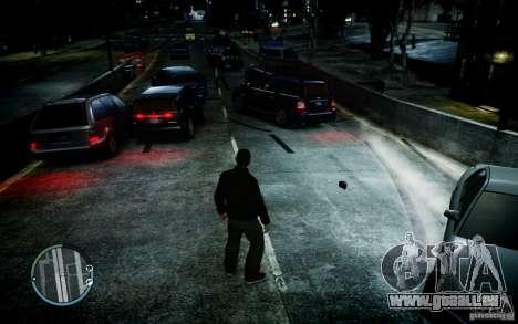 Winter Handling pour GTA 4 secondes d'écran