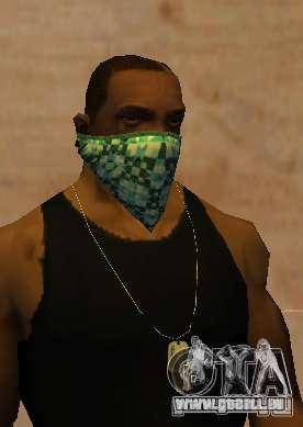 New Bandanas Style pour GTA San Andreas troisième écran