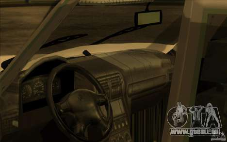 GAZ Wolga 311021 für GTA San Andreas Rückansicht