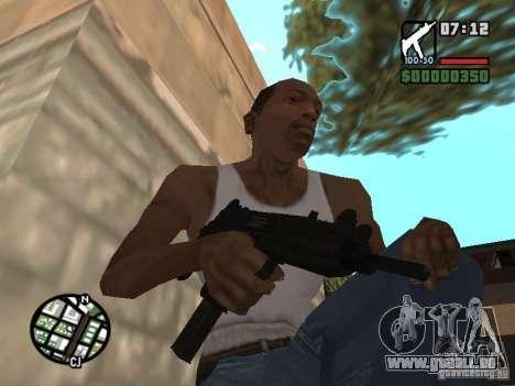 UZI für GTA San Andreas