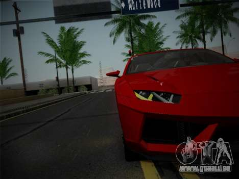 Lamborghini Estoque Concept 2008 für GTA San Andreas Seitenansicht