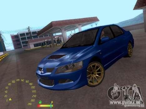 Mitsubishi Lancer EVO BETA pour GTA San Andreas